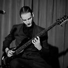 Finn on the 8-string Bass by Roger Barnes