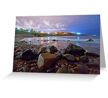 Hallet Cove Beach at Night Greeting Card