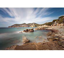 Camp de Mar Photographic Print