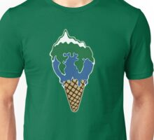 Melting earth Unisex T-Shirt