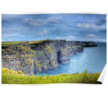 The Cliffs Of Moher - South West Ireland Poster
