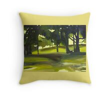 Park Days Throw Pillow