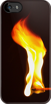 Don&#x27;t Play With Fire - iPhone Case by Bryan Freeman