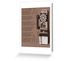 """† ❤ † ❤ † God's """" Phone"""" Number † ❤ † ❤ † Greeting Card"""