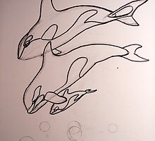 Children of the Sea wip 1 by jyruff