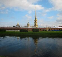 Peter and Paul Fortress by Mark Prior