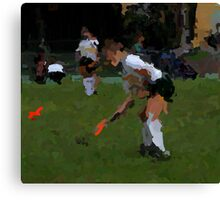 091611 017 p& ink field hockey Canvas Print
