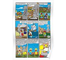 """Rick the chick  """"THE MAGIC SHELL (I pulcini predestinati) parte 22"""" Poster"""