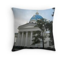 Trinity Cathedral, Saint Petersburg Throw Pillow
