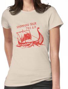 Viking Shopping Tour 793 Womens Fitted T-Shirt