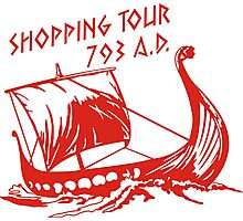 Viking Shopping Tour 793 Photographic Print