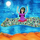 Missy's Magical Flying carpet by Melissa Underwood