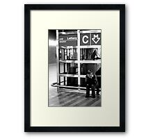 """Alone in the City"" Framed Print"