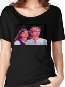 Guybrush and Elaine (final of Monkey Island 1) Women's Relaxed Fit T-Shirt