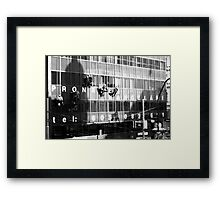 Race ya to the bottom! Framed Print