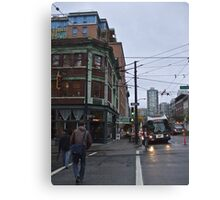 These streets were made for walking Canvas Print
