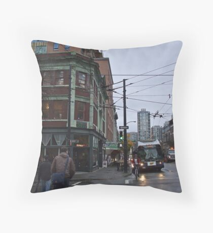 These streets were made for walking Throw Pillow