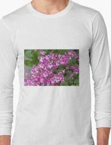 flower in the garden Long Sleeve T-Shirt