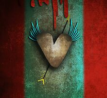 Gothic Heart by rupydetequila