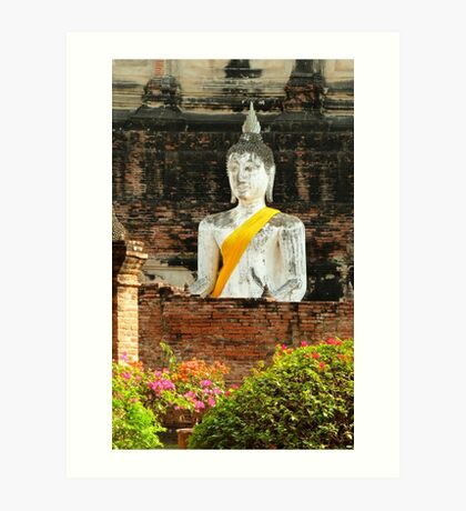 old Buddha Art Print