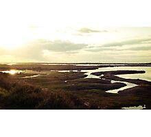 Norfolk sunset Photographic Print