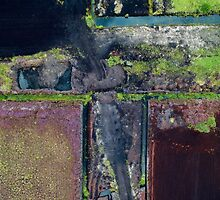 Abstract Peat Landscape No2,  by 2cimage