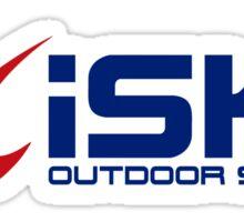 iSKY - outdoor skydiving Sticker