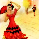 Spanish Dancer by debzandbex