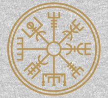 "Vegsvisir - the viking ""compass"" Kids Tee"