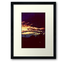 time to leave and turn to dust Framed Print