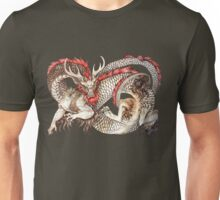 Red Crested Dragon Unisex T-Shirt