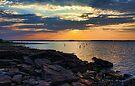 Rocky Shoreline by Carolyn  Fletcher