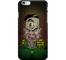 Steve, the Two-Faced Freak iPhone Case/Skin