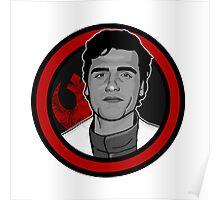 Poe Dameron / Oscar Isaac Poster