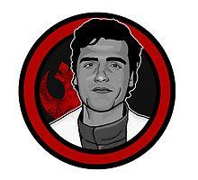 Poe Dameron / Oscar Isaac by palomedridista