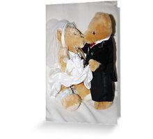 Teddy Wedding Greeting Card