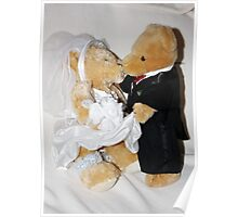 Teddy Wedding Poster