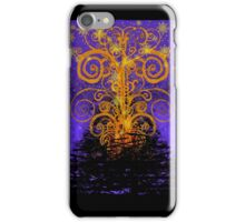 BORNFIRE WITH FIREWORKS iPhone Case/Skin