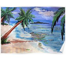 Tropical by Debbie Poster