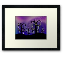 Orchard of Stars Framed Print