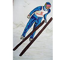 The Ski Jump Photographic Print