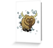 Beefalo, Don't Starve Greeting Card