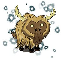 Beefalo, Don't Starve Photographic Print