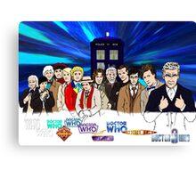 13 Doctors Canvas Print