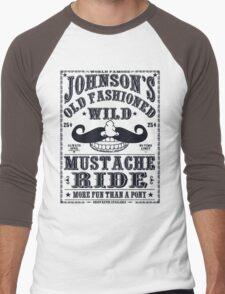 MUSTACHE RIDE Men's Baseball ¾ T-Shirt
