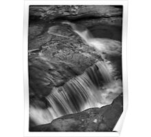 Below Adams Falls Poster