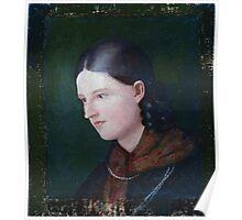 Ludwig Emil Grimm Portrait Amalie Hassenpflug 1818 Poster