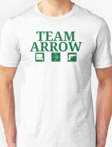 Team Arrow - Symbols w/ Text - Weapons T-Shirt