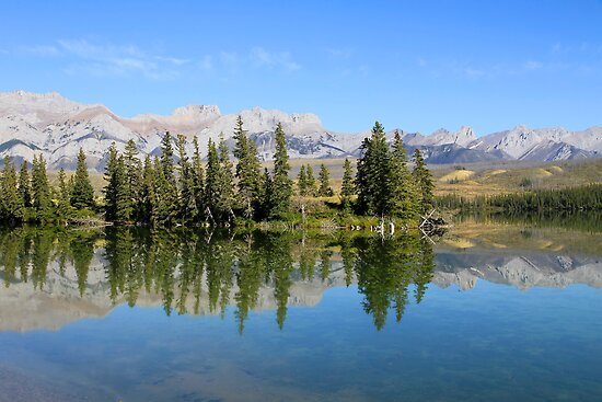 Talbot Lake,  Jasper National Park by Teresa Zieba
