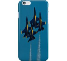 Blue Angels Diamond iPhone Case/Skin